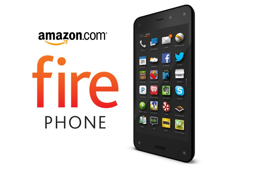 Le Fire Phone d'Amazon
